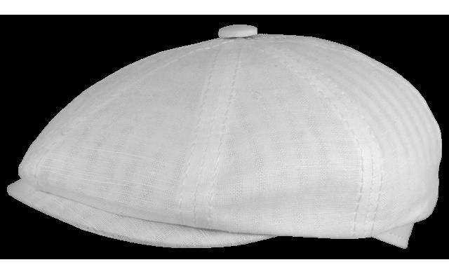 Восьмиклинка/13 Blanco без подкладки белая