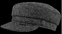 Картуз/22 8158 серый