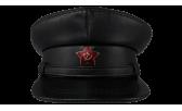 Фуражка НКВД/07 Наппа со звездой чёрная