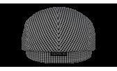 Реглан/24 1078 чёрно-белый