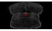 Фуражка/07 Винтаж со звездой чёрная