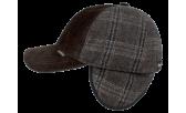 Бейсболка/19к 4047-VEL коричневая
